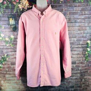Ralph Lauren Men's Shirt Long Sleeve Size XXXL